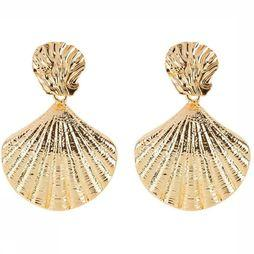 Club Manhattan Oorbel Sea Shell Studs Goud