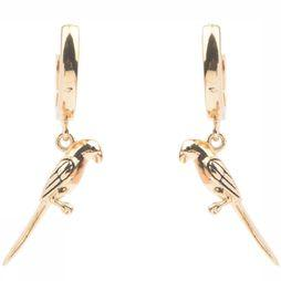 All The Luck In The World Boucle D'Oreille Parrot Or