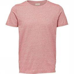 Selected T-Shirt Shhpete Rouge Clair