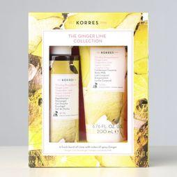 Korres Douchegel Ginger Lime Gift Set Geen kleur