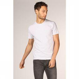 Munoman T-Shirt Arno Wit/Middenrood