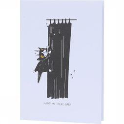 Papette Carte de Voeux El Gato Pablo Hang In There Baby Assortiment