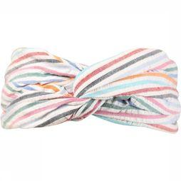 Becksöndergaard Bandeau Multi Stripes Blanc/Assortiment Arc-En-Ciel