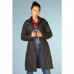 Rains Manteau W Trench Noir