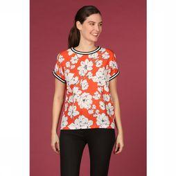 B.Young Blouse Bypanya Middenrood/Assortiment Bloem