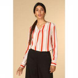 B.Young Blouse Byghita Gebroken Wit/Middenrood