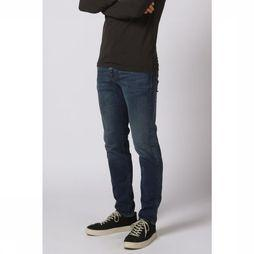 Selected Jeans Shnslimleon Middenblauw