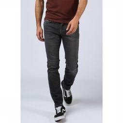 Selected Jeans Shnslimleon Middengrijs