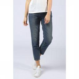 Selected Jeans Slf Frida Hw Mom Midblue Middenblauw