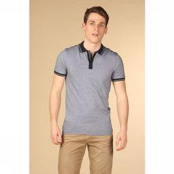 Selected Polo joe Bleu Moyen