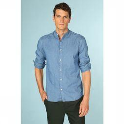 Selected Chemise slimnolan Bleu Clair