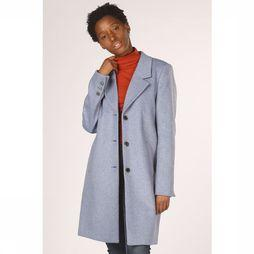 Selected Manteau Sf Sasha Wool Camp Bleu Clair