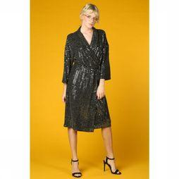 Object Robe Sharly 3/4 Noir/Argent