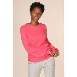 Object Pull Eve Nonsia Ls Knit Seasonal Fuchsia