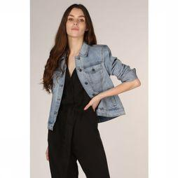 Object Blazer Chrissa Bleu Denim Lichtblauw