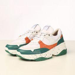Selected Sneaker gavina Trainer B Wit/Groen