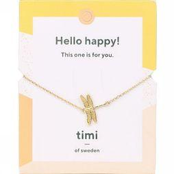 Timi Bracelet Dragon Fly Or