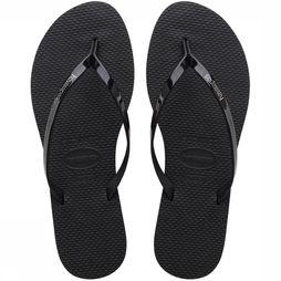 Havaianas Tongs You Metallic Noir