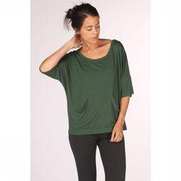 PlayPauze T-Shirt Moon Green Black Vert Moyen