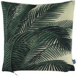 HK Living Printed Cushion Palm Leaves 45X45 Assortiment