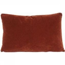 Urban Nature Culture Kussen Vintage Velvet Sequoia Bordeaux