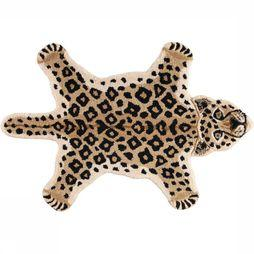Doing Goods Tapis Looy Leopard Rug Small Brun