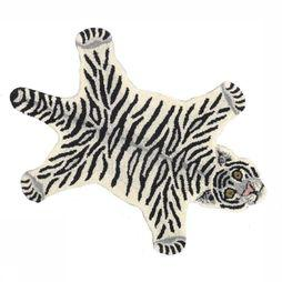 Doing Goods Tapis Snowy Tiger Rug Small Blanc Cassé