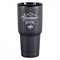 Gentlemen's Hardware Travelmug Adventure Donkergrijs