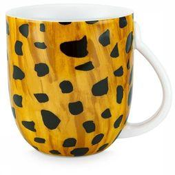 Fabienne Chapot Home Servies Tas Large Cheetah Spots Petrol/Geel
