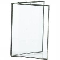 Standing Double Photo Frame 13X18
