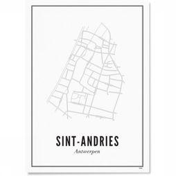 Wijck. Photo Antwerp Sint-Andries Pas de couleur