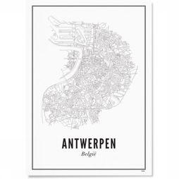 Poster Antwerp City