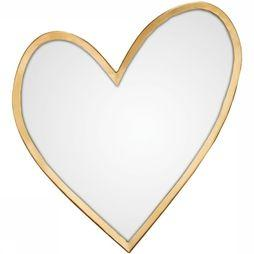 VT Wonen Miroir Heart Gold Or