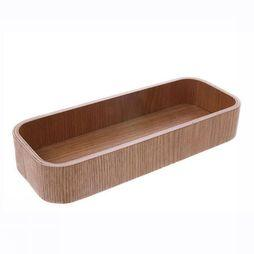 HK Living Kleine Opberger Willow Wooden Box L Middenbruin