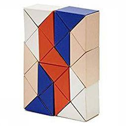 ARE Jeu Snake Blocks Small Bleu Moyen/Rose Moyen