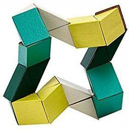 ARE Jeu Snake Blocks Small Jaune Moyen/Vert Moyen