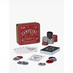 Gentlemen's Hardware Jeu Campfire Poker Set Rouge Moyen/Or