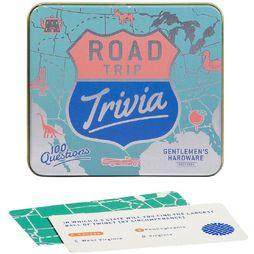 Gentlemen's Hardware Jeu USA Road Trip Trivia Bleu Clair/Rose Clair