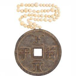 Decoratie Lucky Coin Mala Naturel Mix