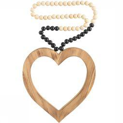 Madu Madu Decoration Love Mala Black Dip Blanc Cassé/Noir
