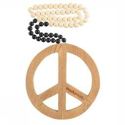Madu Madu Decoration Peace Mala Black Dip Blanc Cassé/Noir
