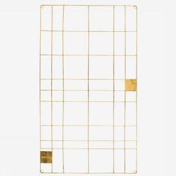 Decoration Memo Board Wire Gold