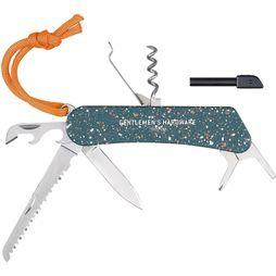 Gentlemen's Hardware Woonaccessoire Wilderness Multi Tool Zilver/Middengroen