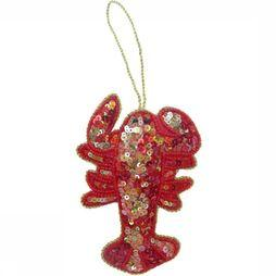 Doing Goods Kerstcollectie Lucky Lobster Middenrood