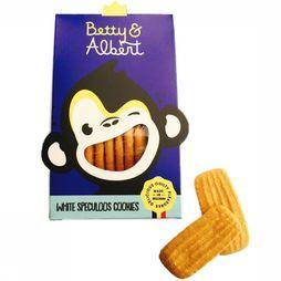 Betty&Albert Nourriture White Speculoos Cookies Pas de couleur