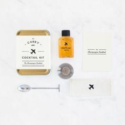 W&P Design Carry On Cocktail Kit Goud