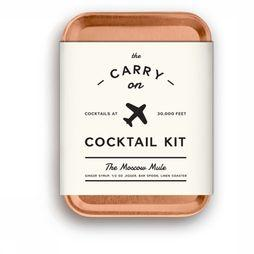 W&P Design Accessoire Carry on Cocktail Kit The Moscow Mule Roest