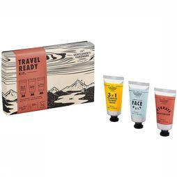 Gentlemen's Hardware Shampoo/Douchegel Travel Ready Kit Middenrood/Middengrijs