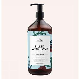 The Gift Label Zeep Body Wash - Filled With Love Lichtblauw/Middengroen