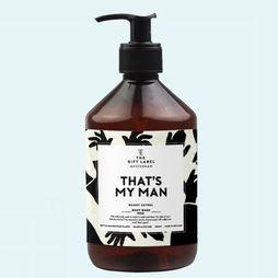 The Gift Label Zeep Body Wash Men - That's My Man Wit/Zwart